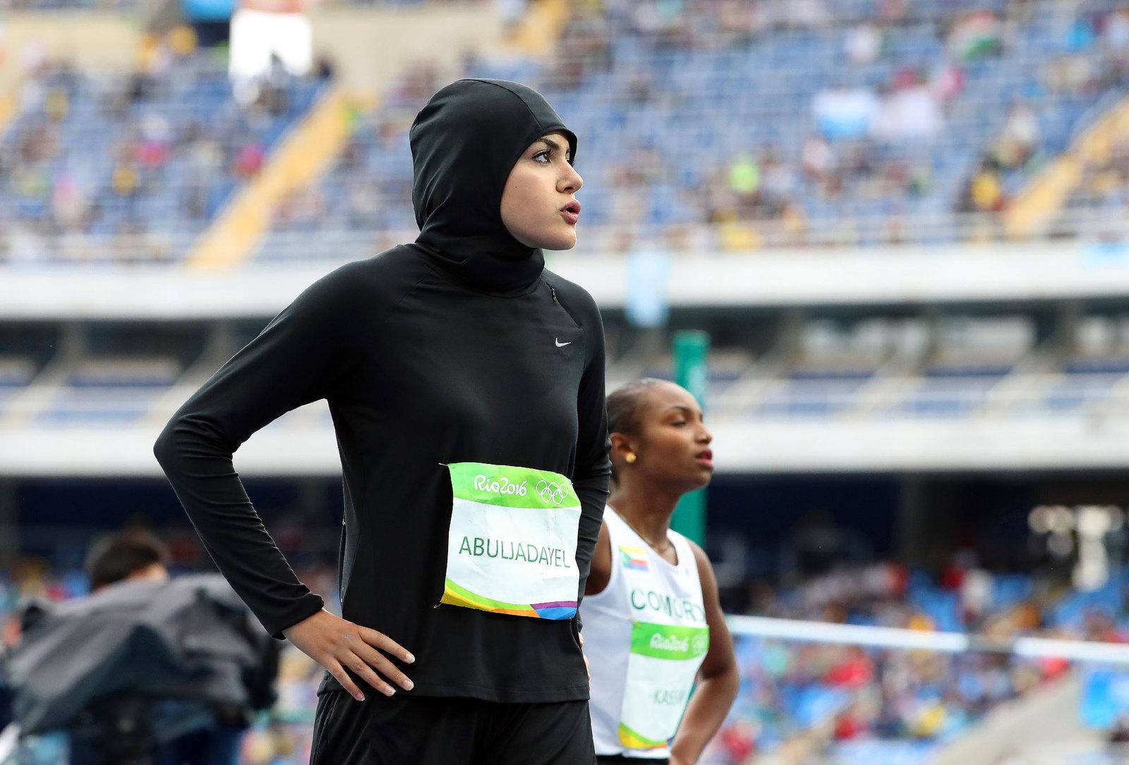Саудовскую Аравию представляет в женской стометровке Кариман Абулядаел