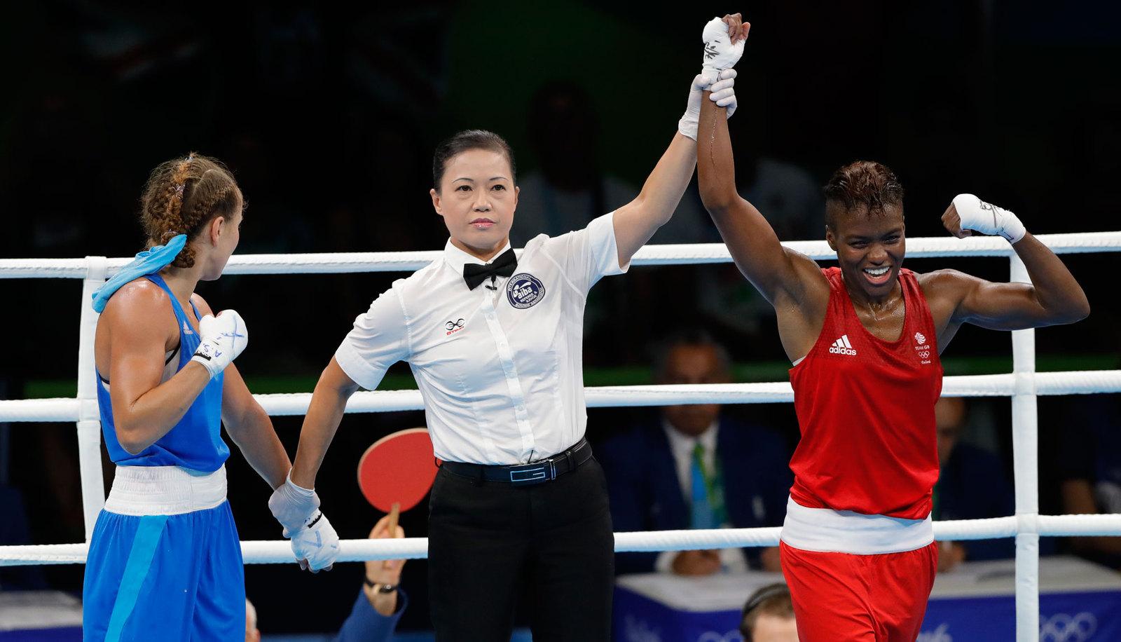 Олимпийский турнир по женскому боксу