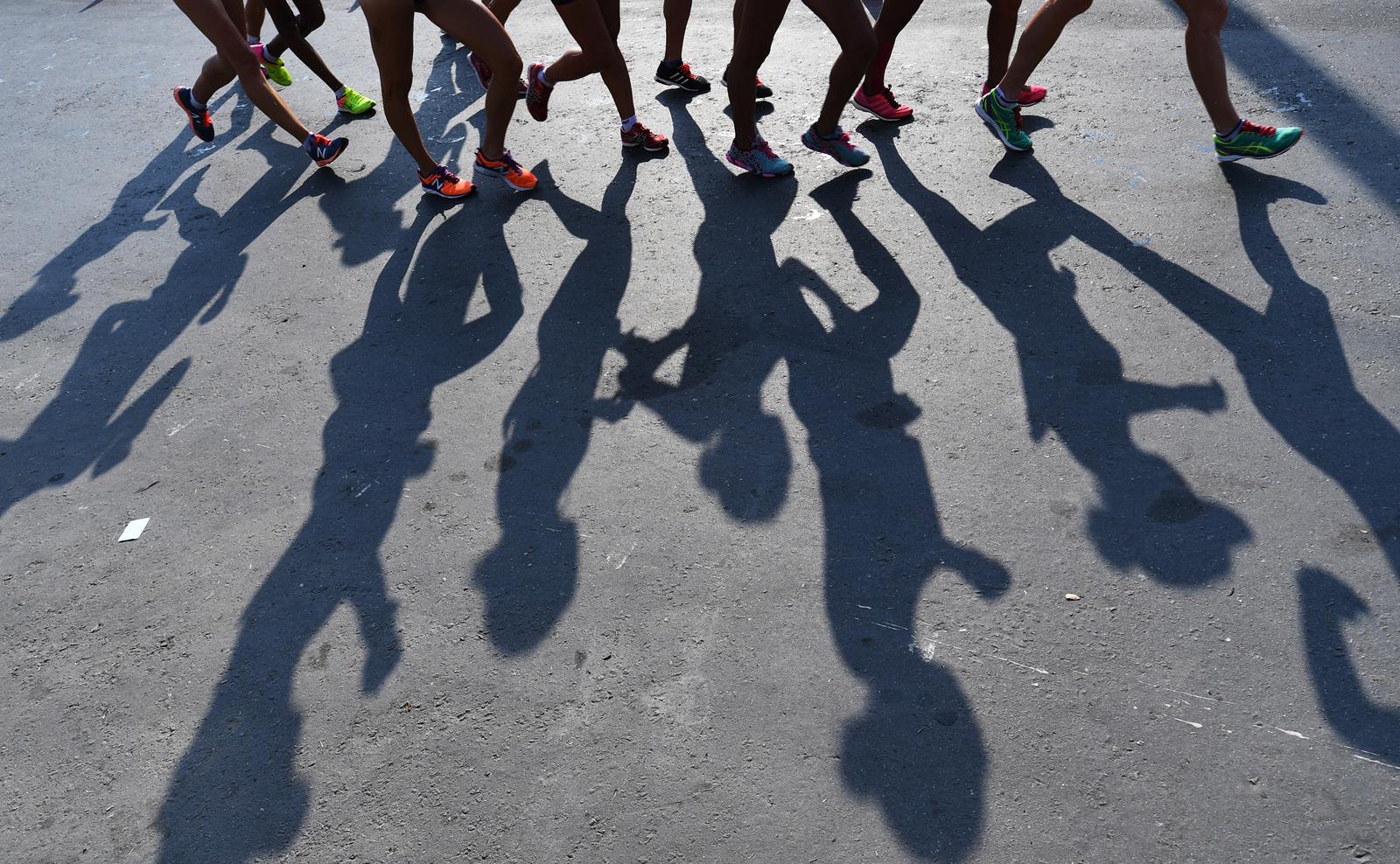 Женская спортивная ходьба в самом разгаре