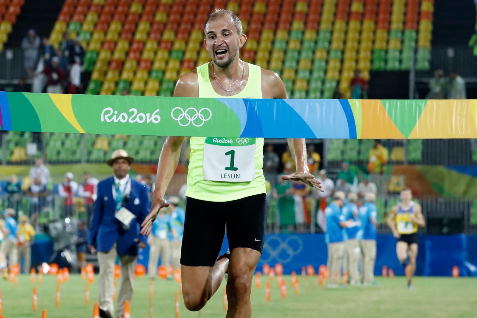 Российский пятиборец Александр Лесун выиграл личный турнир Олимпийских игр