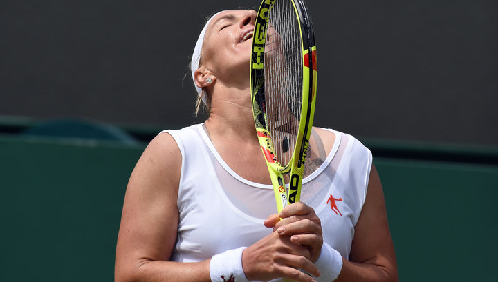 Касаткина иКузнецова вышли в ¼ финала олимпийского теннисного турнира впарах