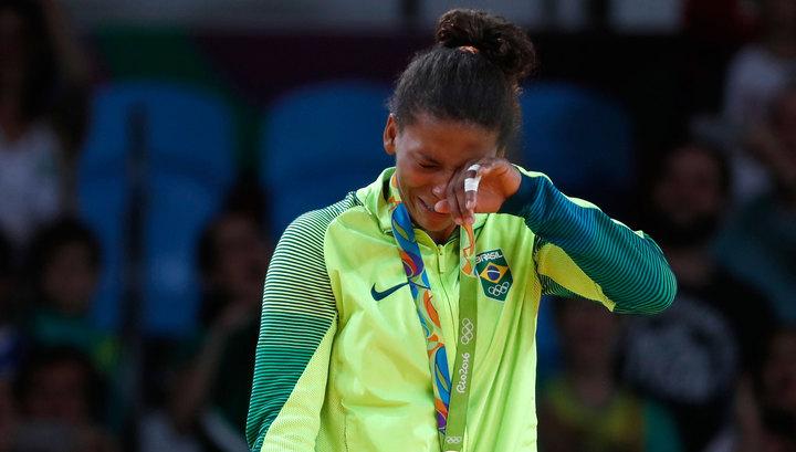 Силва завоевала первое золото Бразилии наИграх вРио
