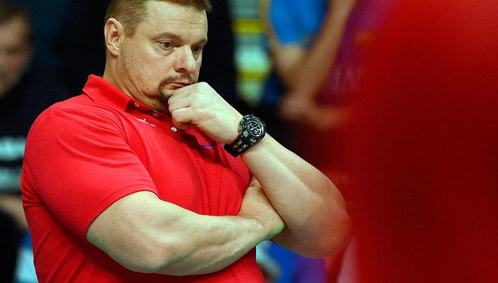 Алекно поведал оподвиге волейболиста Гранкина, игравшего сАргентиной сопухшей ногой