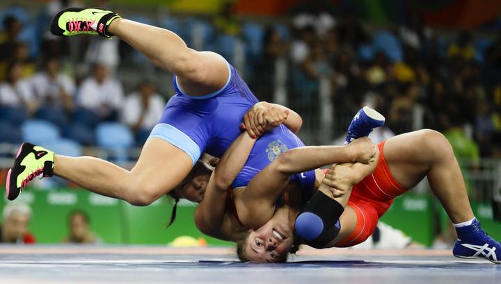 Наталья Воробьева вышла вполуфинал повольной борьбе— Олимпиада вРио