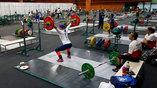 Тренировочный зал штангистов