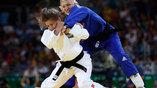 Схватка венгерки Эвы Черновицки (справа) и аргентинки Паулы Парето закончилась победой латиноамериканки