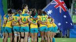 Австралийские регбистки вырвали золото у новозеландской команды