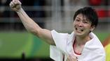 Яркая победа японского гимнаста Кохэя Учимуры на помосте в Рио-де-Жанейро. Он стал двукратным олимпийским чемпионом