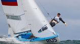 Россияне Созкин и Грибанов создают достойную конкуренцию соперникам на соревнованиях по парусному спорту в Рио