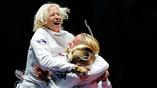Российские шпажистки  в командном турнире не смогли побороться за олимпийское золото, но уверенно выиграли бронзу