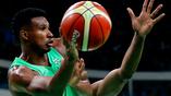 Бразильский баскетболист Леандро Барбоса в мачте против Нигерии