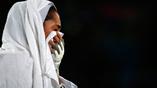 Иранская тхэквондистка Кимия Ализаде Зенуурин расстроена поражением