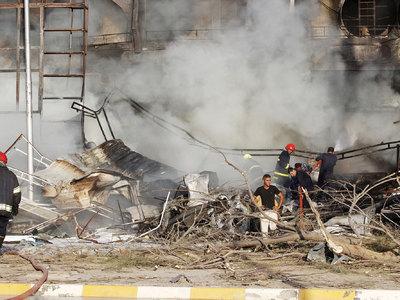 В столице Ирака взорвалась заминированная автомашина, есть погибшие