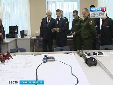 георгий полтавченко посетил кадетскую it-школу базе военной академии