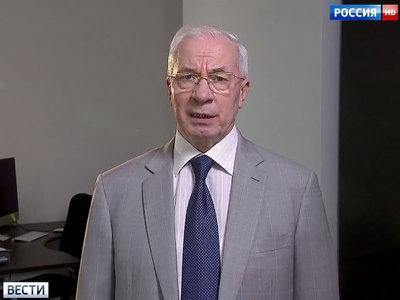 николай азаров попросил посла сша теффта повлиять украинскую