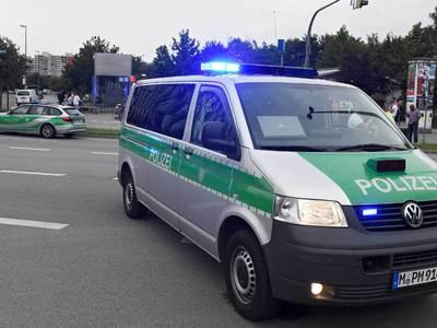 Мужчина сгорел на главной площади Мюнхена