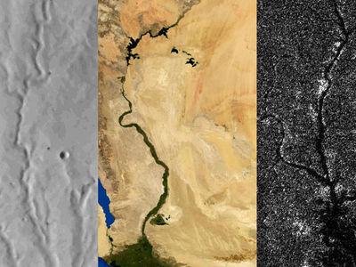 Реки Титана больше роднят его с Марсом, а не с Землёй