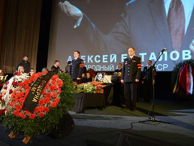 Прощаясь с Алексеем Баталовым, Москва поверила слезам