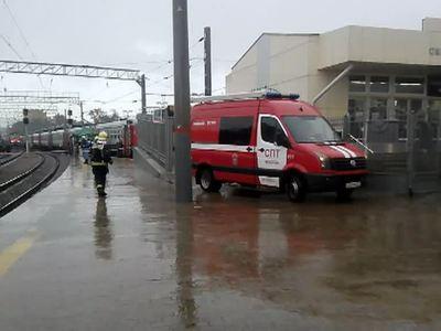 Восстановлено движение поездов после аварии возле Курского вокзала