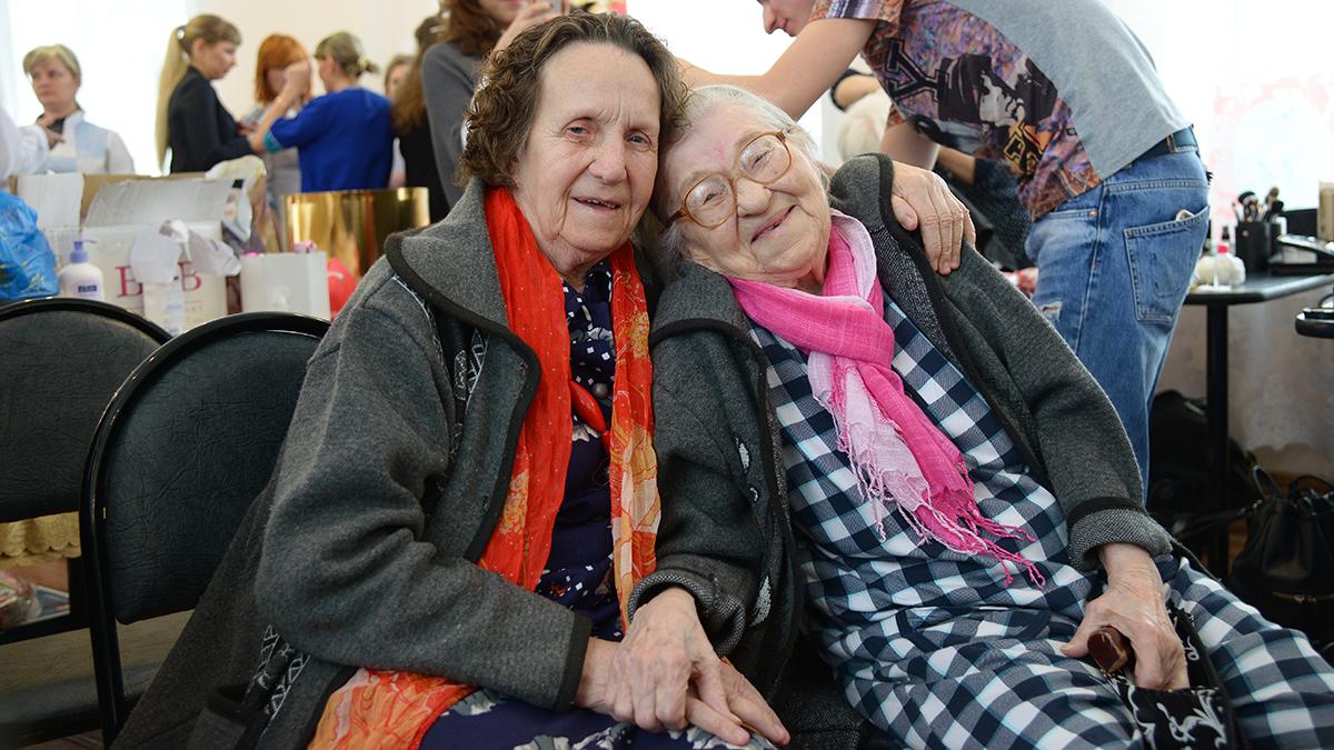 Фото престарелых дам 10 фотография
