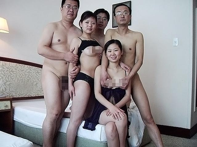 групповой секс с китайцами