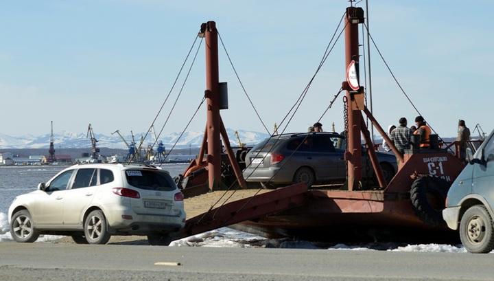 Вести.Ru: На Ямале открыли паромную переправу через Обь
