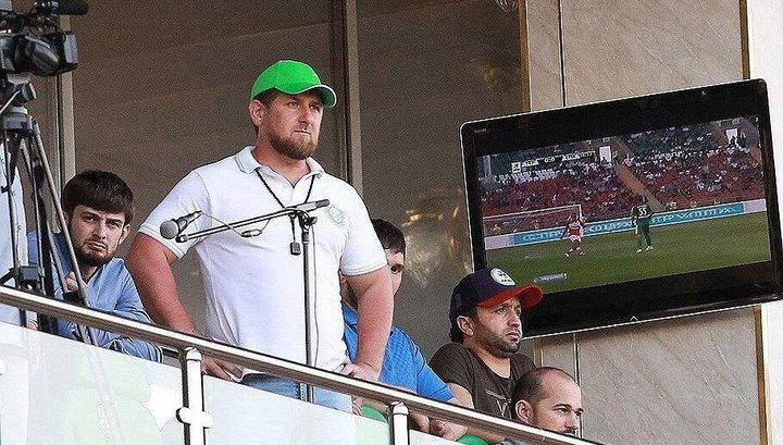 Кадыров: счастлив, ведь внёс лепту в формирование сборной России