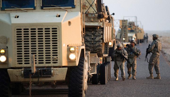 В Ираке убиты двое и ранены пятеро американских военных