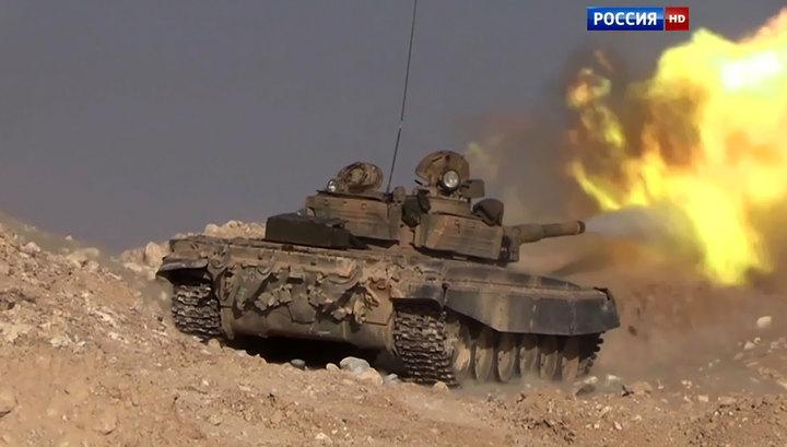 Сирийские войска отбили у боевиков лагерь палестинских беженцев