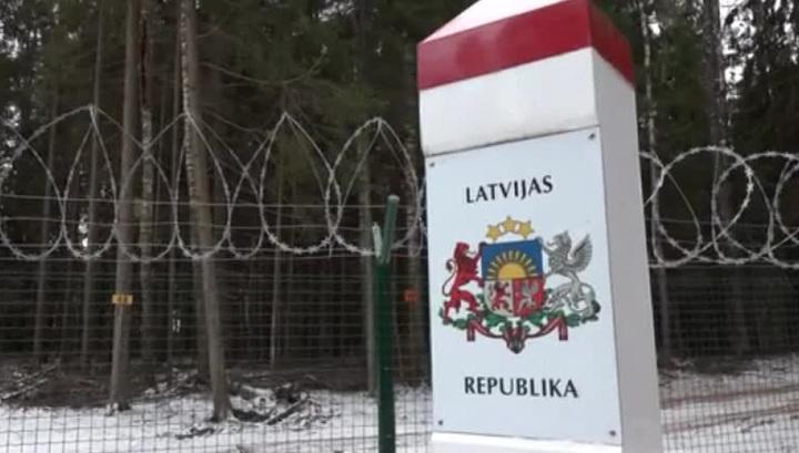 Латвия строит на границе с Россией суперстену