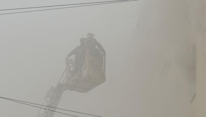 В Сочи сгорел многоквартирный жилой дом