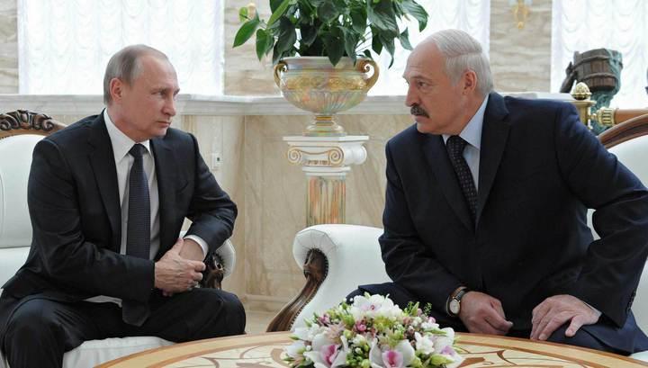 Путин и Лукашенко обошлись без итогового заявления для прессы