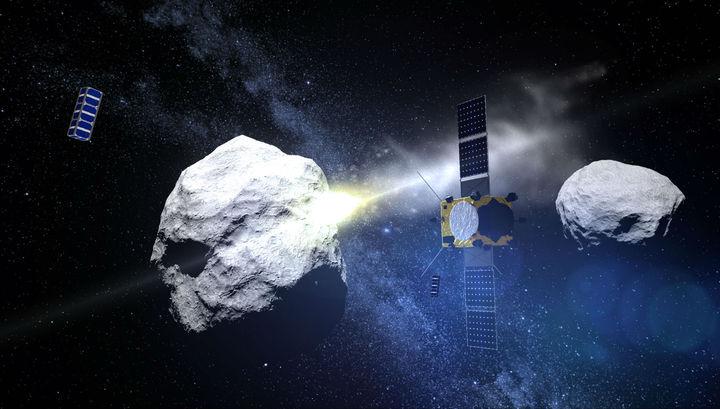 Космические заправки на астероидной воде снизят стоимость дальних полётов