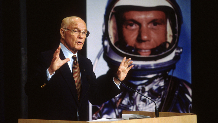 Американский астронавт Джон Гленн скончался на 96-м году жизни