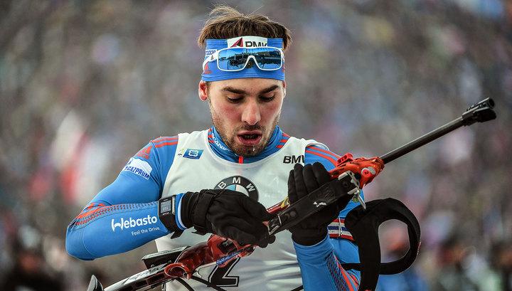 Биатлонист Антон Шипулин стал четвертым в гонке преследования