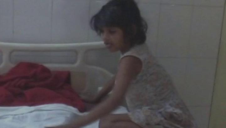 В Индии нашли 8-летнюю девочку-маугли, которую воспитали обезьяны