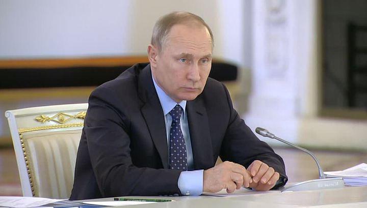 """Путин поддержал блокировку пиратских """"зеркал"""""""