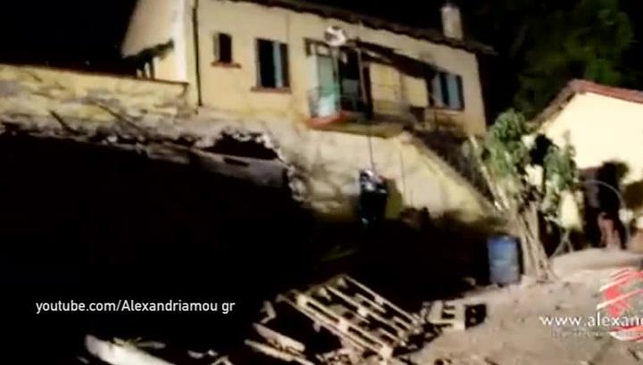 Железнодорожная катастрофа в Греции унесла жизни 4 человек