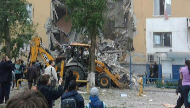В Волгограде взрывом газа разрушен подъезд жилого дома: есть погибшие