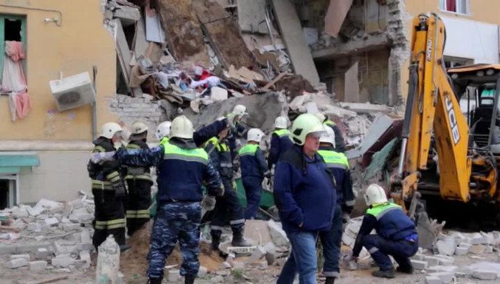 Установлены личности четырех погибших при взрыве газа в Волгограде