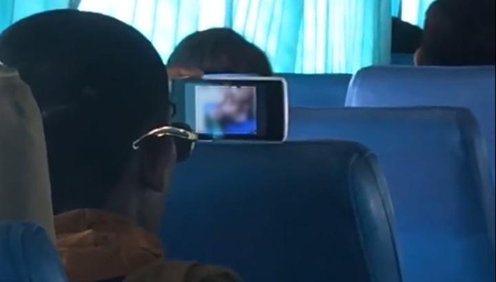 порно нежем было платить за автобус