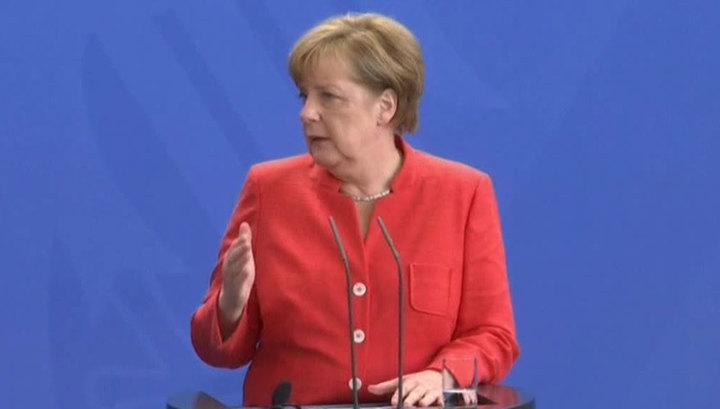 Ангела Меркель заявила об уходе Германии с турецкой базы «Инджирлик» в Иорданию