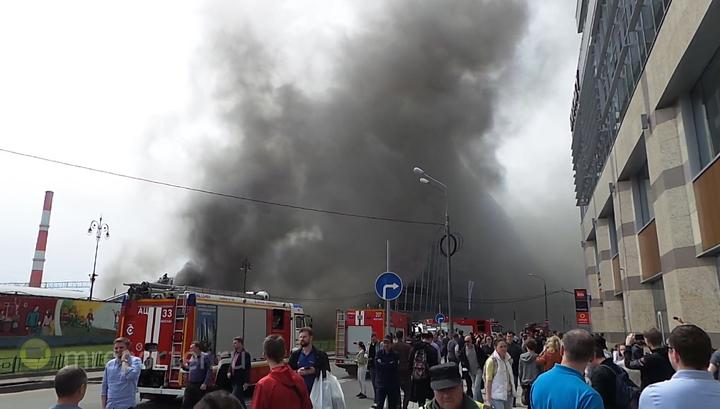 Найдены тела жертв пожара на Киевском вокзале