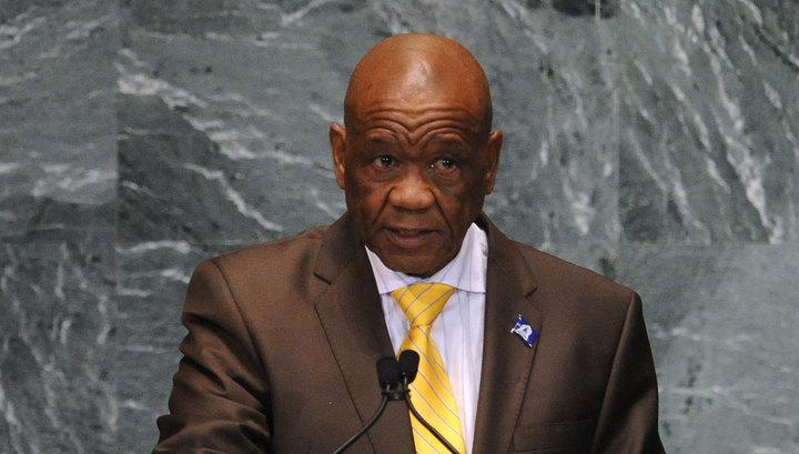 Супругу премьера Лесото убили сразу после инаугурации