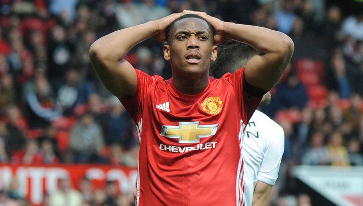 "Антони Марсьяль несчастлив в ""Манчестер Юнайтед"""