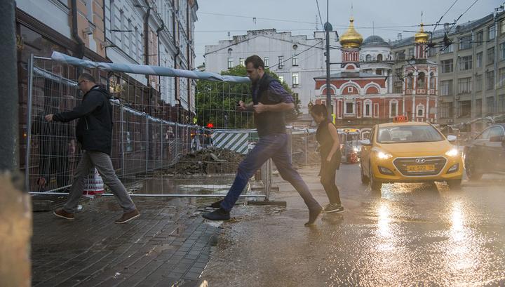 Погода показала москвичам, что такое желтый уровень