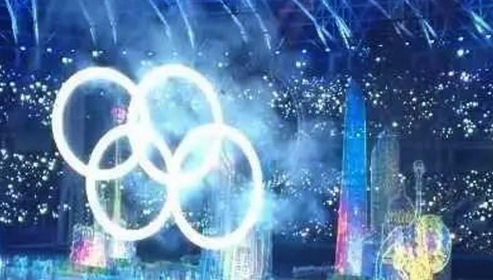 На открытии Спартакиады народов КНР не зажглось одно из олимпийских колец