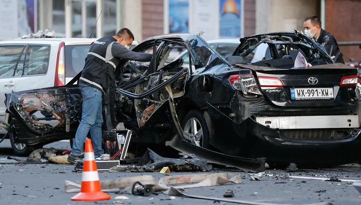 Взрыв в центре Киева: в Toyota Camry было до килограмма тротила