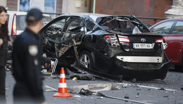 СМИ о взрыве в Киеве: Махаури убили так же, как он убрал Басаева