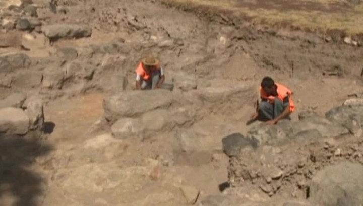 На западе Армении раскопали средневековый замок